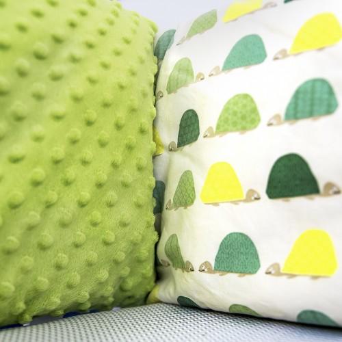 Защита в кроватку с черепахами
