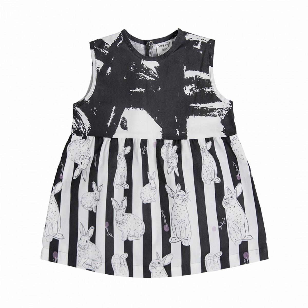 Платье монохромное