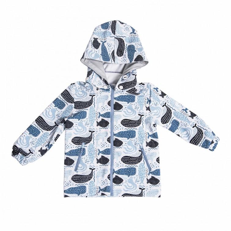 Курточка с китами