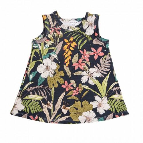 Платье тропическое